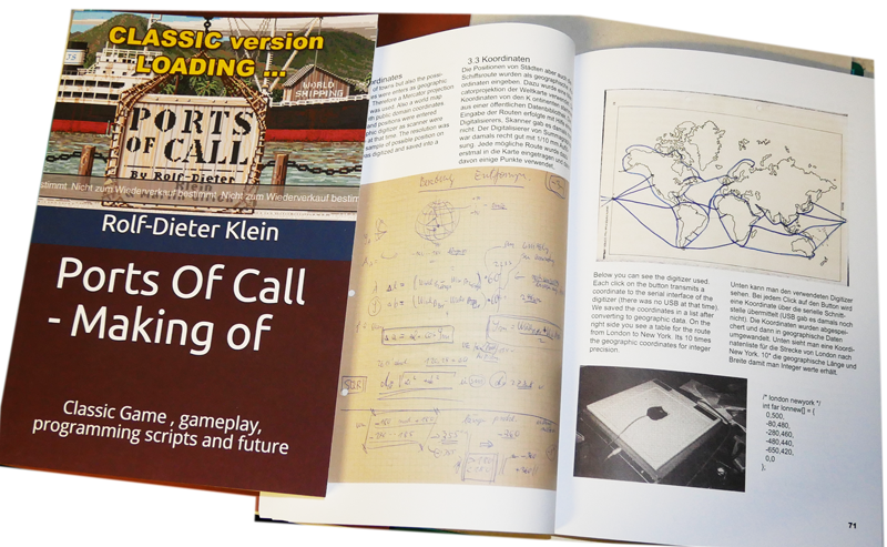Ports Of Call - making of - Buch